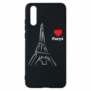 Etui na Huawei P20 Paryżu, kocham cię - PrintSalon