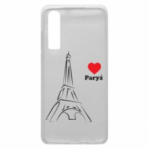 Etui na Huawei P30 Paryżu, kocham cię - PrintSalon