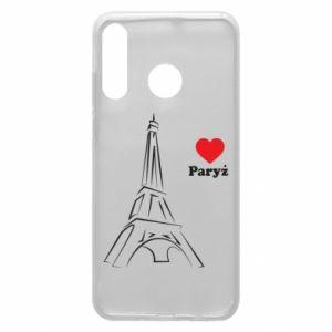 Etui na Huawei P30 Lite Paryżu, kocham cię
