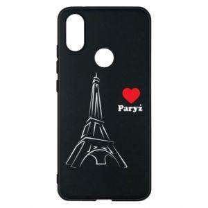 Etui na Xiaomi Mi A2 Paryżu, kocham cię - PrintSalon