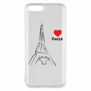 Etui na Xiaomi Mi6 Paryżu, kocham cię - PrintSalon