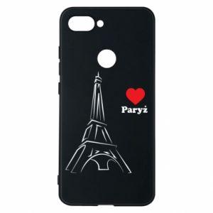 Etui na Xiaomi Mi8 Lite Paryżu, kocham cię