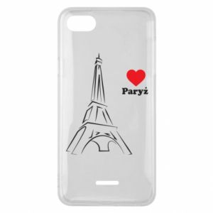 Etui na Xiaomi Redmi 6A Paryżu, kocham cię - PrintSalon