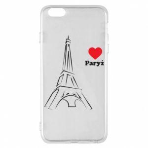 Etui na iPhone 6 Plus/6S Plus Paryżu, kocham cię - PrintSalon