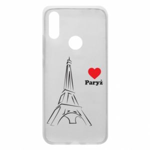 Etui na Xiaomi Redmi 7 Paryżu, kocham cię - PrintSalon