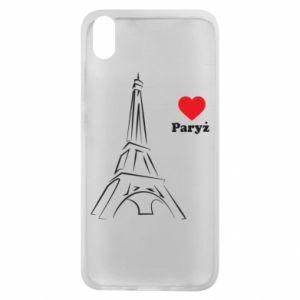 Etui na Xiaomi Redmi 7A Paryżu, kocham cię - PrintSalon