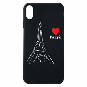 Etui na iPhone Xs Max Paryżu, kocham cię