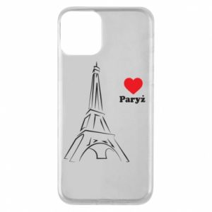 iPhone 11 Case Paris I love you