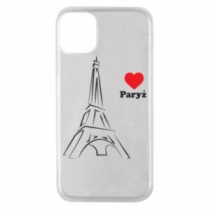 Etui na iPhone 11 Pro Paryżu, kocham cię