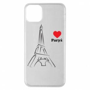 Etui na iPhone 11 Pro Max Paryżu, kocham cię