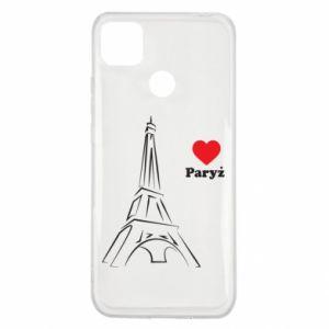 Etui na Xiaomi Redmi 9c Paryżu, kocham cię