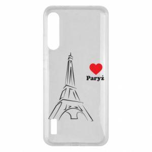 Etui na Xiaomi Mi A3 Paryżu, kocham cię