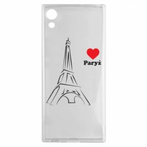 Etui na Sony Xperia XA1 Paryżu, kocham cię