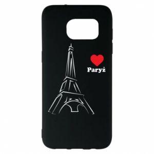 Etui na Samsung S7 EDGE Paryżu, kocham cię
