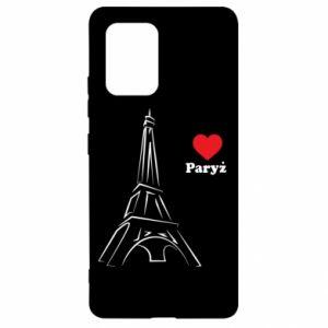 Etui na Samsung S10 Lite Paryżu, kocham cię