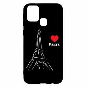 Etui na Samsung M31 Paryżu, kocham cię
