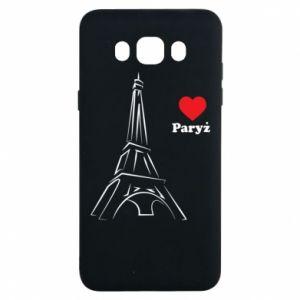 Etui na Samsung J7 2016 Paryżu, kocham cię
