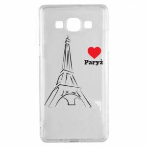 Etui na Samsung A5 2015 Paryżu, kocham cię