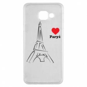 Etui na Samsung A3 2016 Paryżu, kocham cię