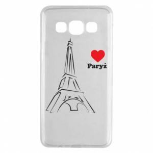 Etui na Samsung A3 2015 Paryżu, kocham cię