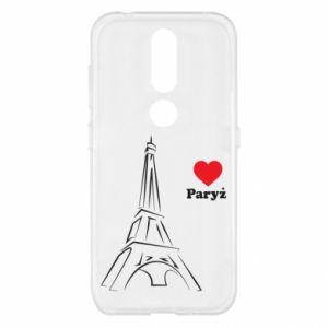 Etui na Nokia 4.2 Paryżu, kocham cię