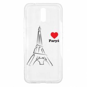 Etui na Nokia 2.3 Paryżu, kocham cię