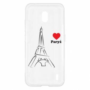 Etui na Nokia 2.2 Paryżu, kocham cię