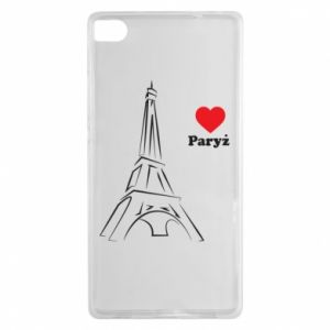 Etui na Huawei P8 Paryżu, kocham cię