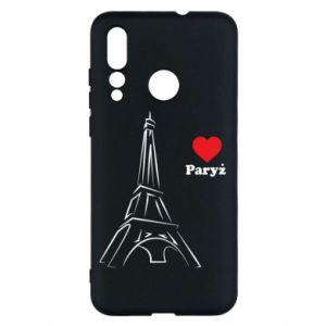 Etui na Huawei Nova 4 Paryżu, kocham cię