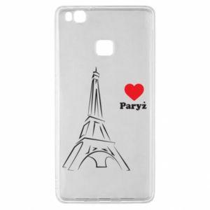 Etui na Huawei P9 Lite Paryżu, kocham cię