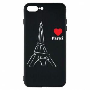 Etui na iPhone 8 Plus Paryżu, kocham cię