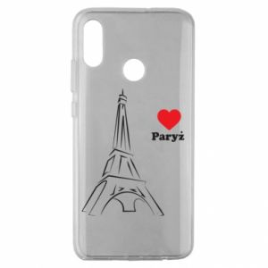 Etui na Huawei Honor 10 Lite Paryżu, kocham cię