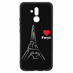 Etui na Huawei Mate 20 Lite Paryżu, kocham cię