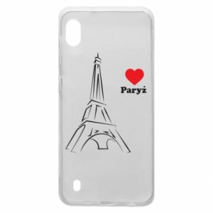 Etui na Samsung A10 Paryżu, kocham cię