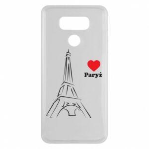 Etui na LG G6 Paryżu, kocham cię