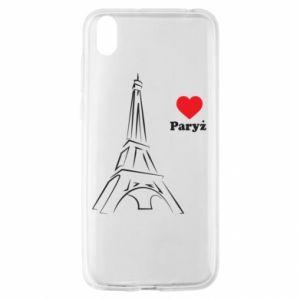 Etui na Huawei Y5 2019 Paryżu, kocham cię