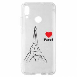 Etui na Huawei P Smart 2019 Paryżu, kocham cię