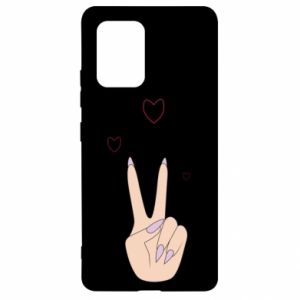 Samsung S10 Lite Case Peace and love