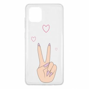 Samsung Note 10 Lite Case Peace and love