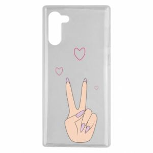 Samsung Note 10 Case Peace and love