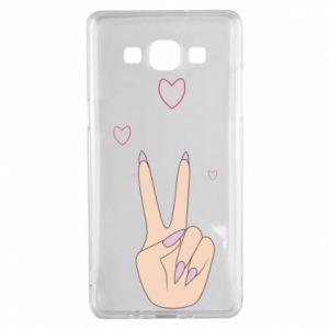 Samsung A5 2015 Case Peace and love