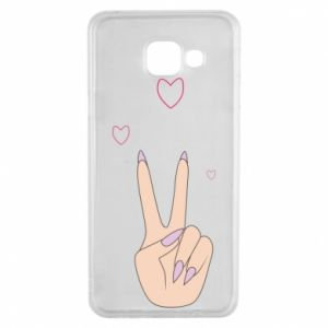 Samsung A3 2016 Case Peace and love