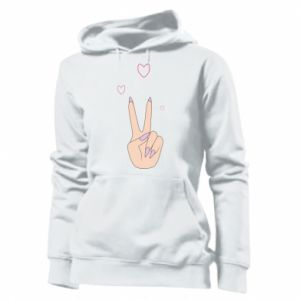 Damska bluza Peace and love