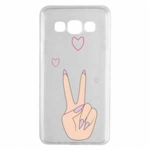 Samsung A3 2015 Case Peace and love