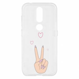 Nokia 4.2 Case Peace and love