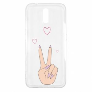 Nokia 2.3 Case Peace and love