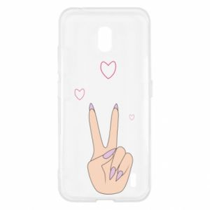 Nokia 2.2 Case Peace and love