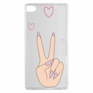 Huawei P8 Case Peace and love