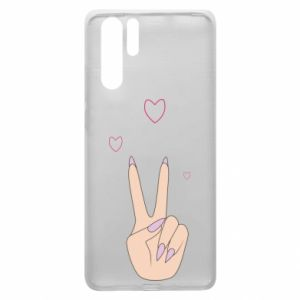 Huawei P30 Pro Case Peace and love