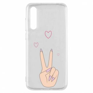 Huawei P20 Pro Case Peace and love